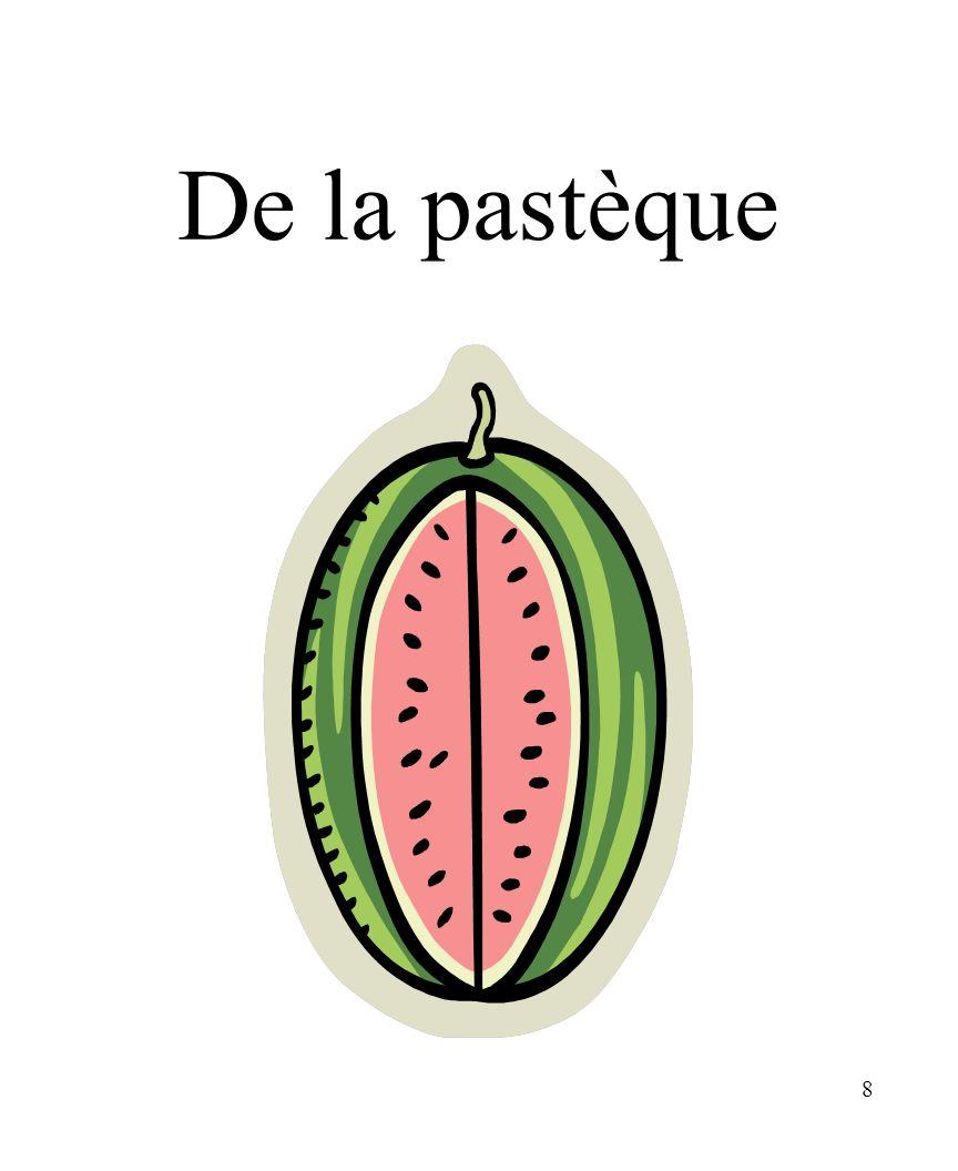 CHAPITRE 8 LES ALIMENTS 3/25/2017 De la pastèque Madame Craven