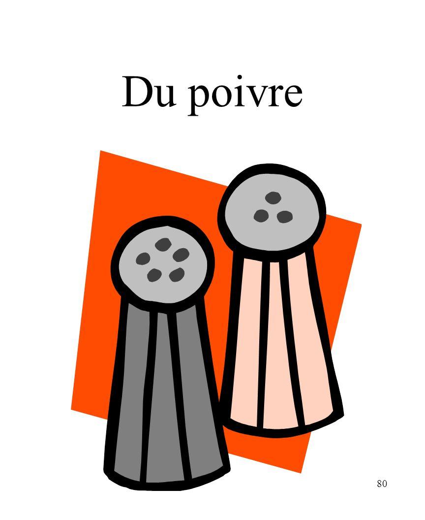CHAPITRE 8 LES ALIMENTS 3/25/2017 Du poivre Madame Craven