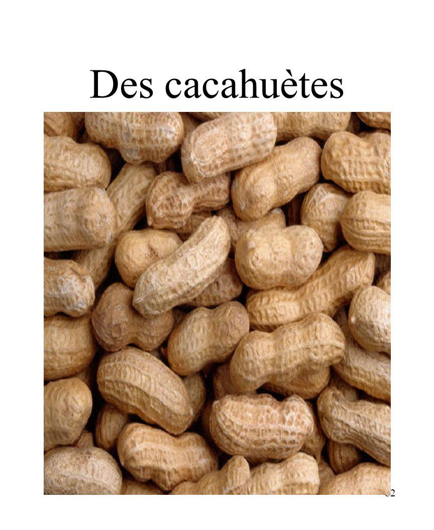CHAPITRE 8 LES ALIMENTS 3/25/2017 Des cacahuètes Madame Craven