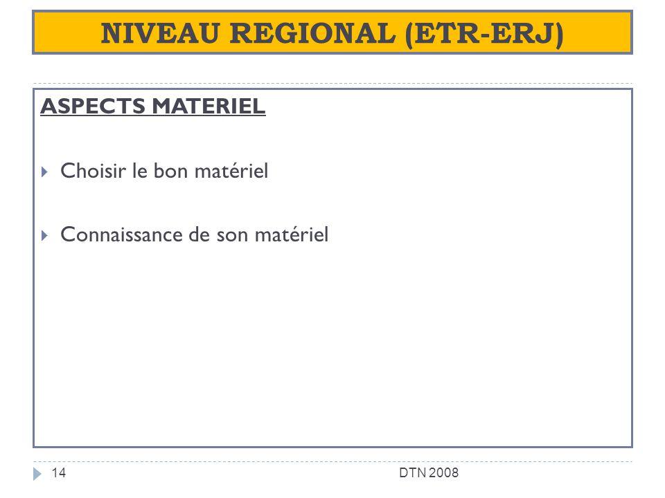 NIVEAU REGIONAL (ETR-ERJ)