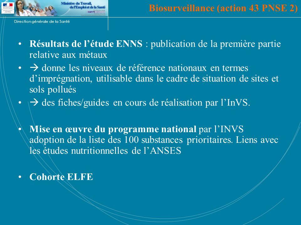Biosurveillance (action 43 PNSE 2)