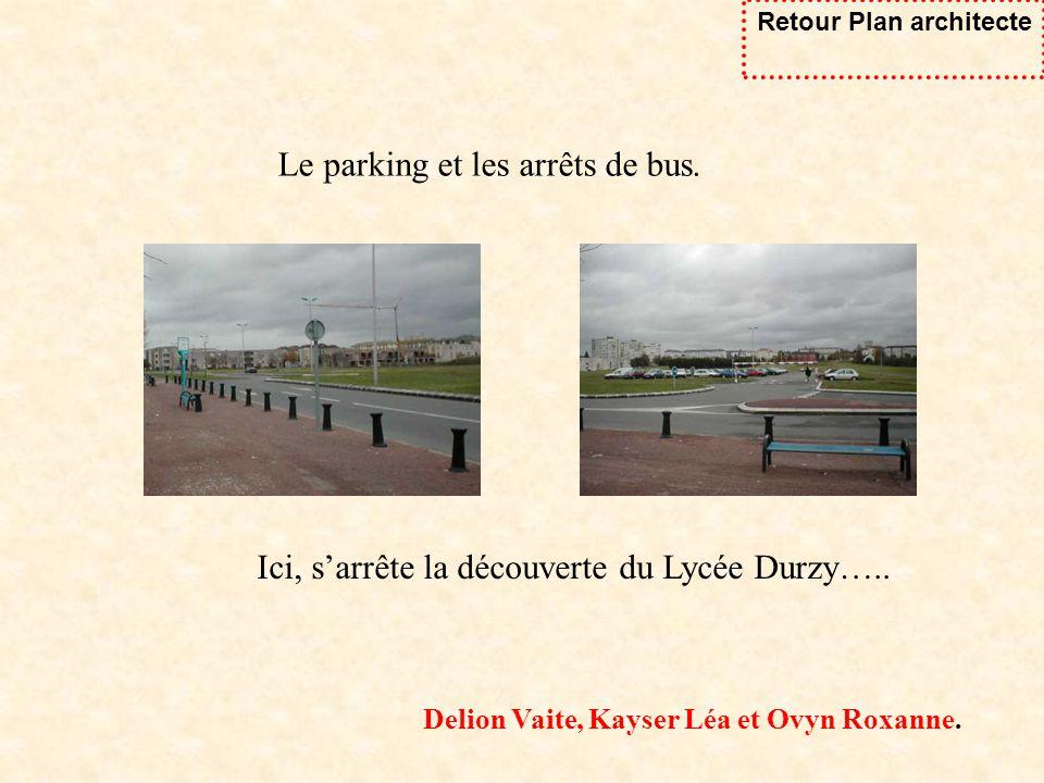 Retour Plan architecte Delion Vaite, Kayser Léa et Ovyn Roxanne.