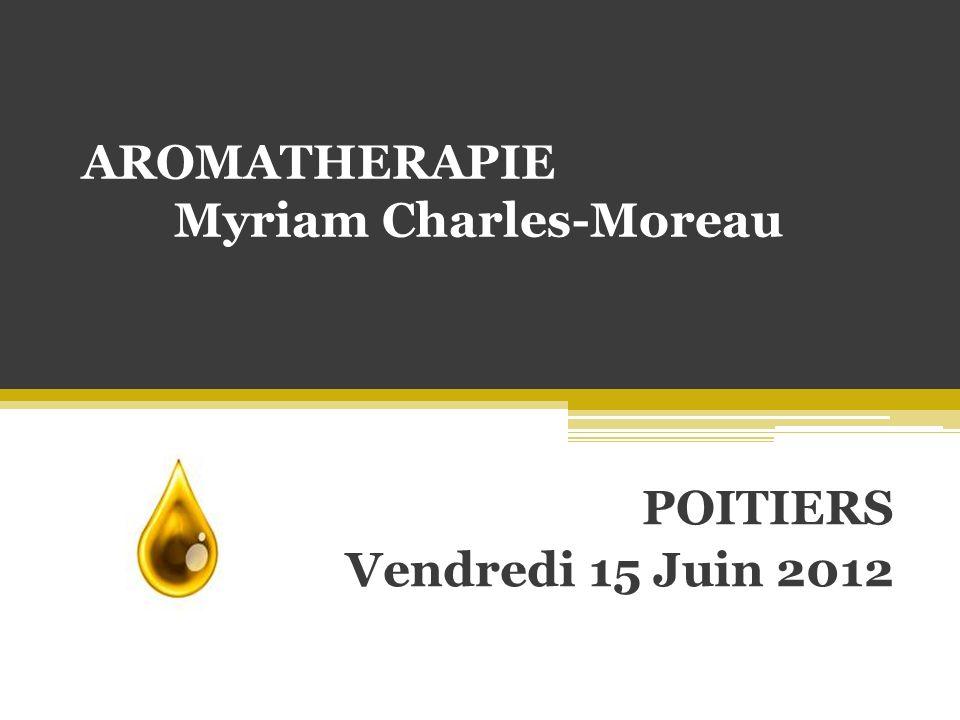 AROMATHERAPIE Myriam Charles-Moreau