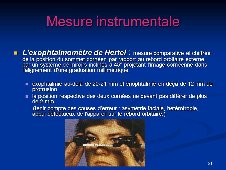 Mesure instrumentale