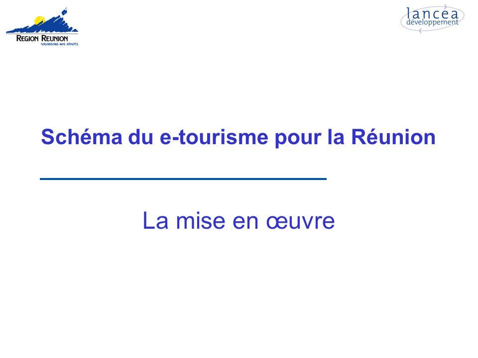 Schéma du e-tourisme pour la Réunion