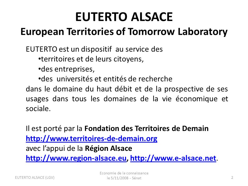 EUTERTO ALSACE European Territories of Tomorrow Laboratory
