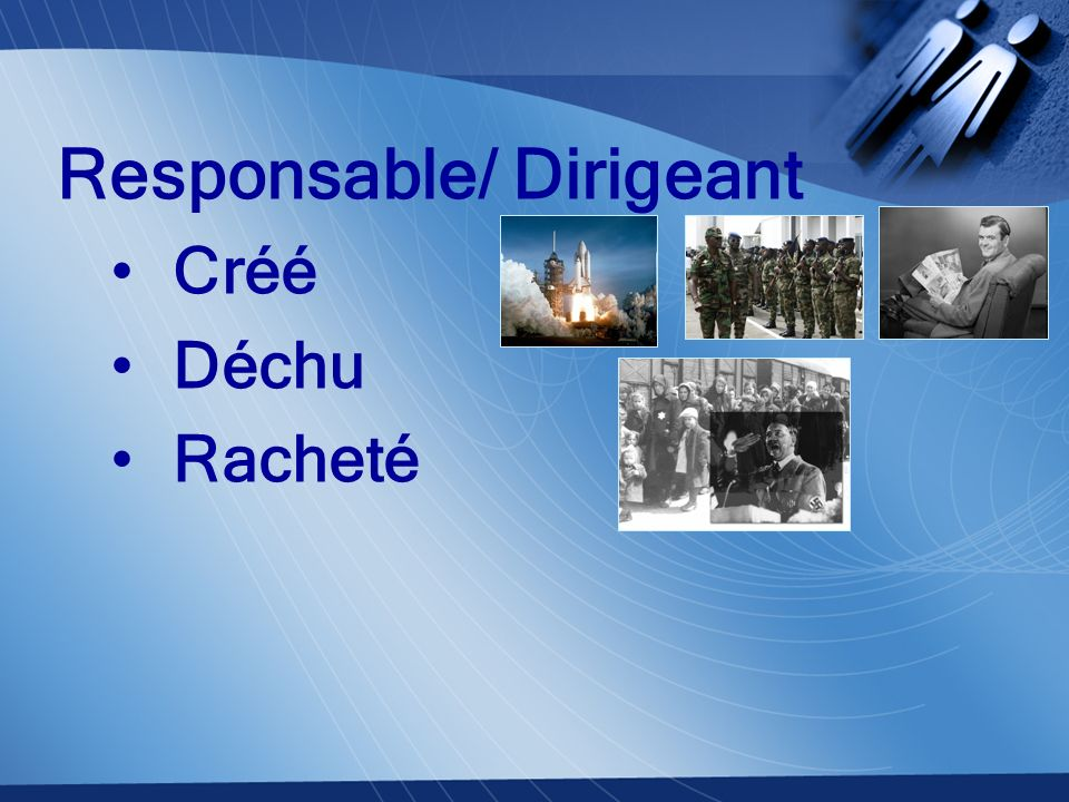 Responsable/ Dirigeant Créé Déchu Racheté