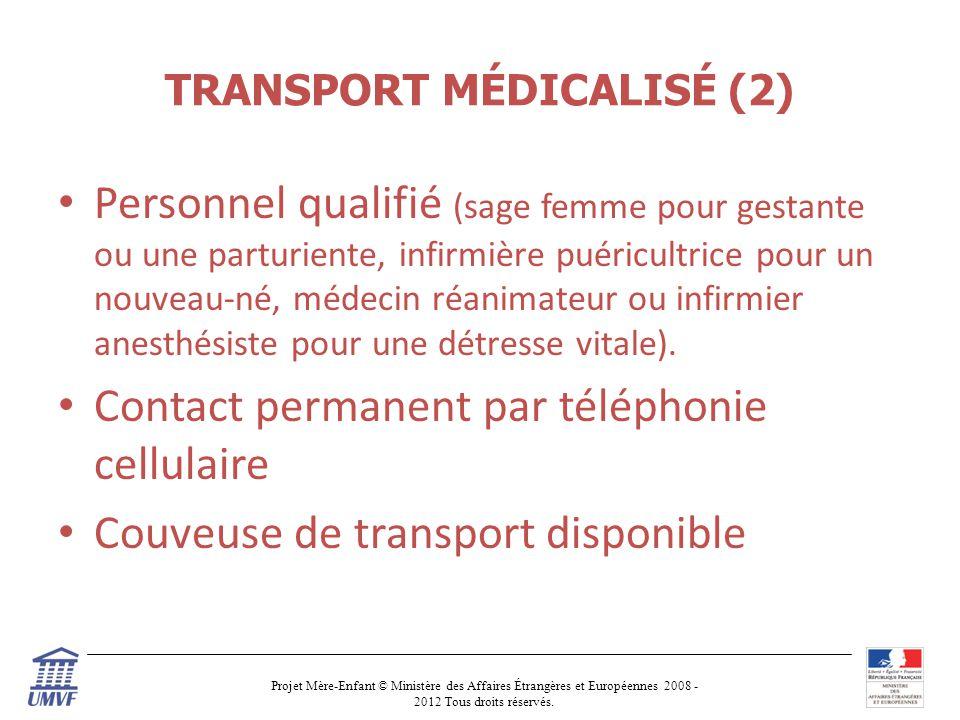 TRANSPORT MÉDICALISÉ (2)