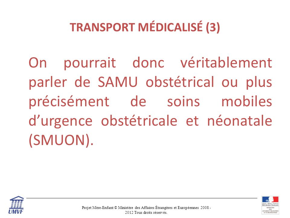TRANSPORT MÉDICALISÉ (3)