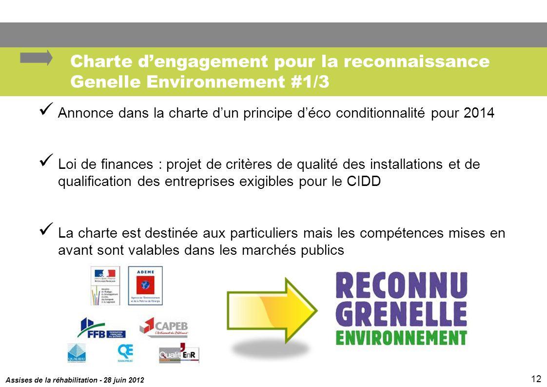 Charte d'engagement pour la reconnaissance Genelle Environnement #1/3