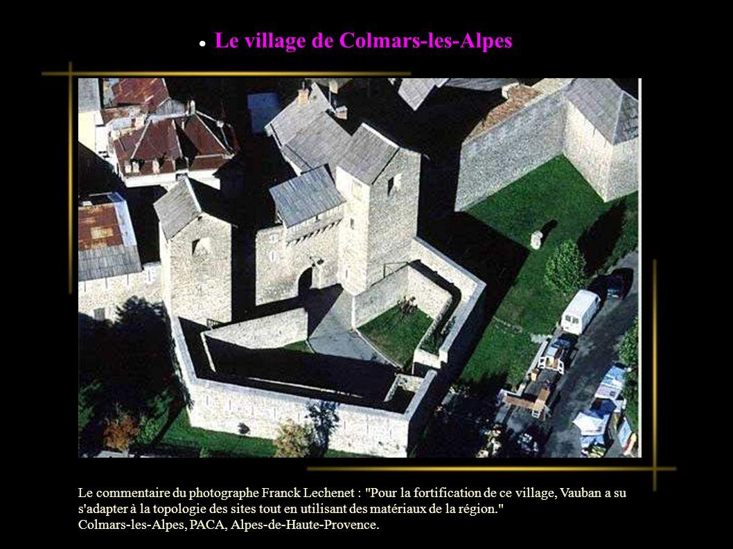 Le village de Colmars-les-Alpes