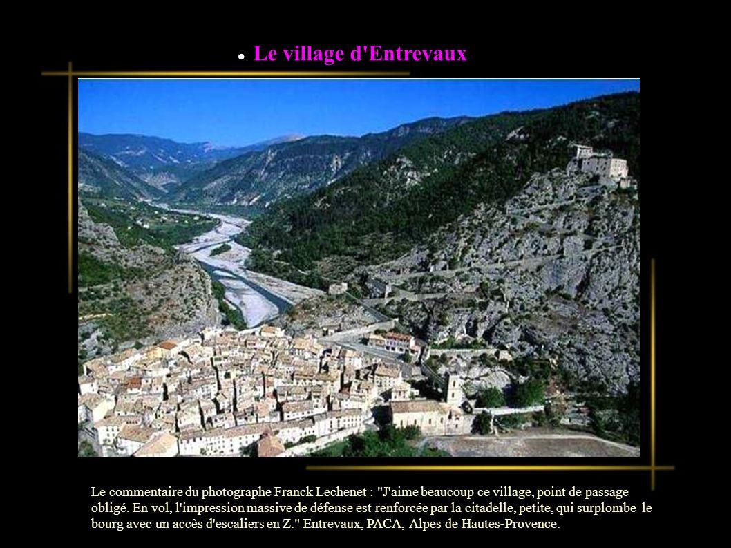 Le village d Entrevaux