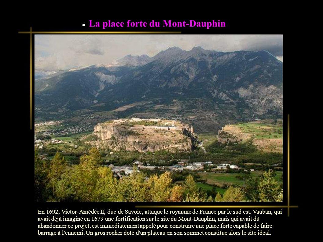 La place forte du Mont-Dauphin