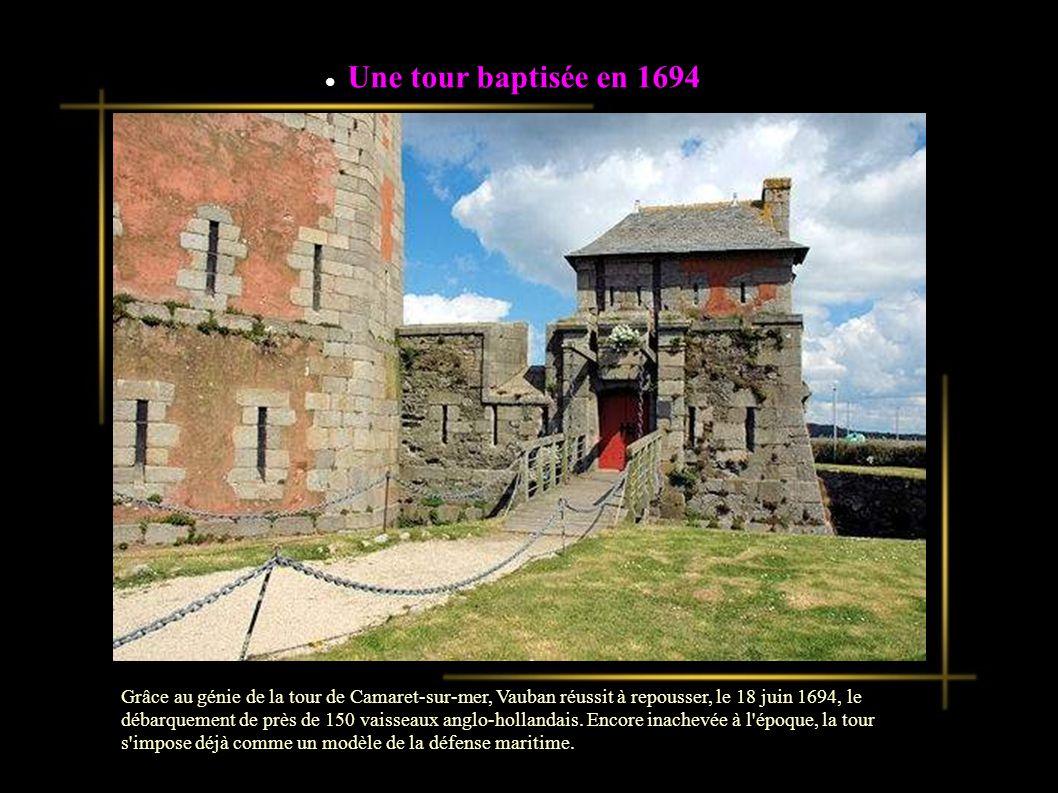 Une tour baptisée en 1694