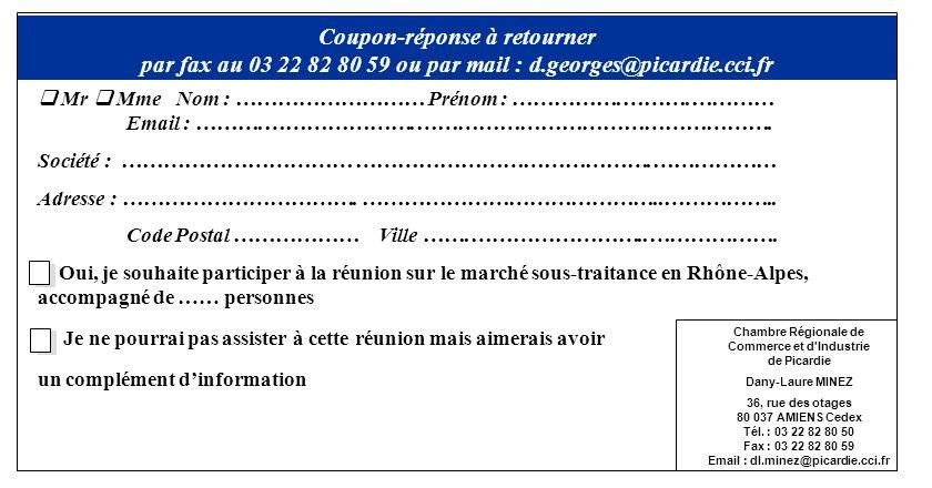 Chambre Régionale de Commerce et d Industrie de Picardie