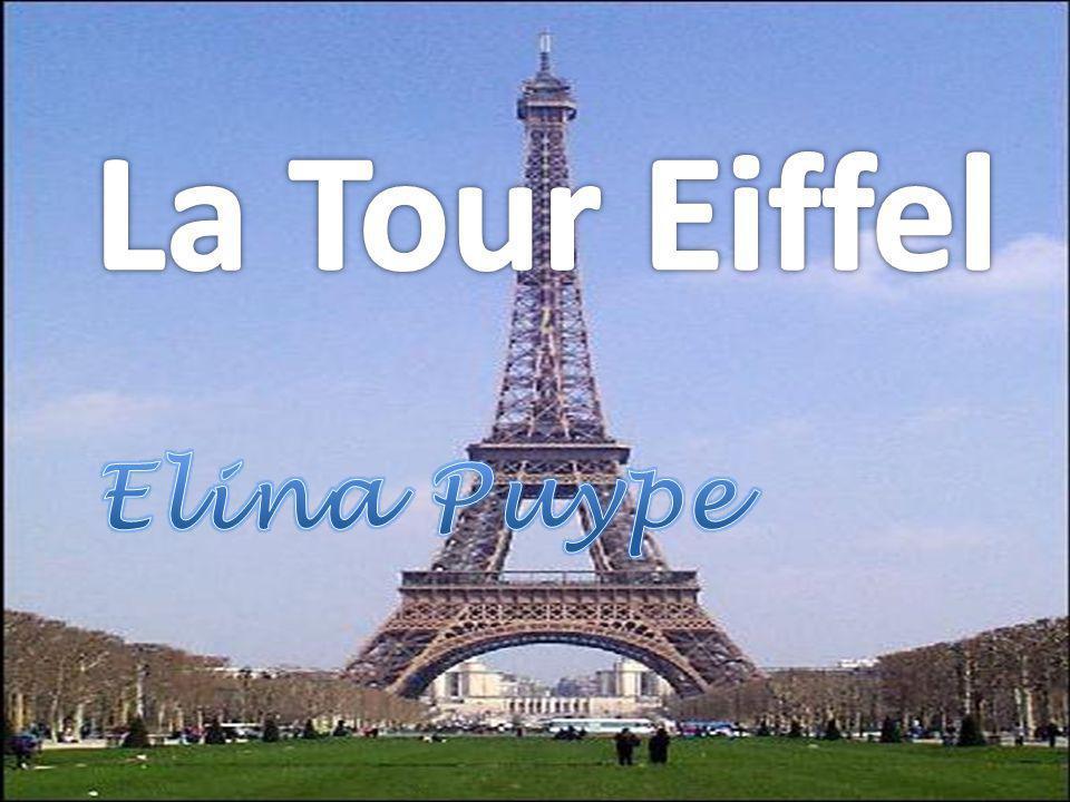La Tour Eiffel Elina Puype
