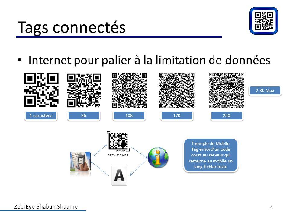 Tags connectés Internet pour palier à la limitation de données