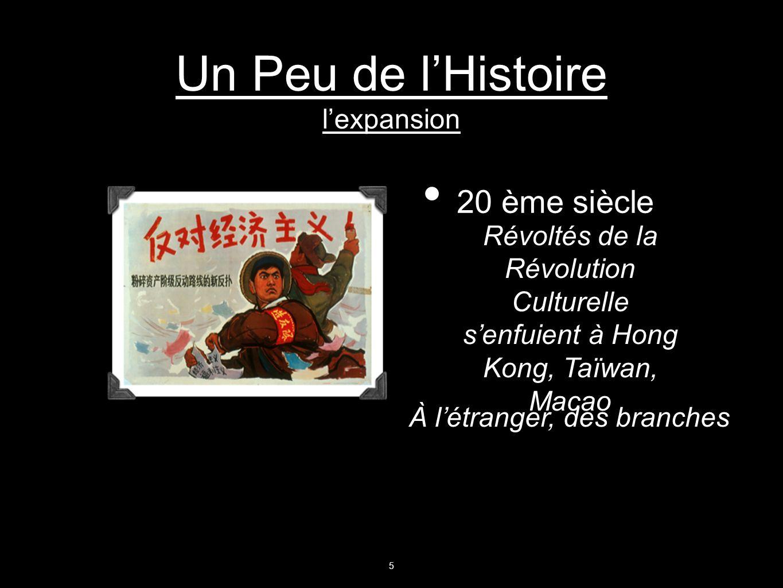 Un Peu de l'Histoire l'expansion