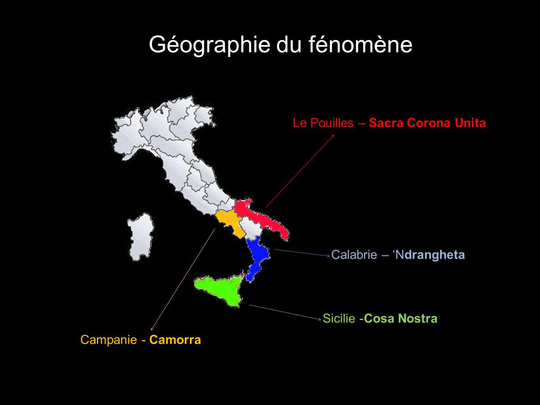 Géographie du fénomène