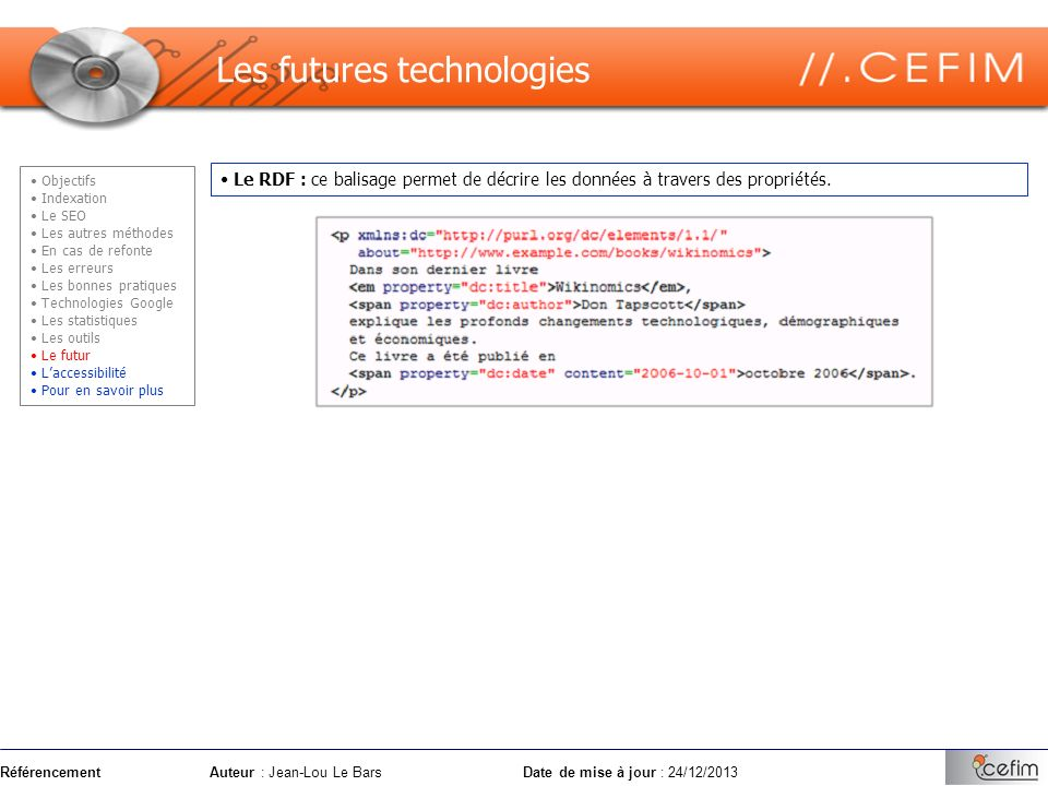 Les futures technologies
