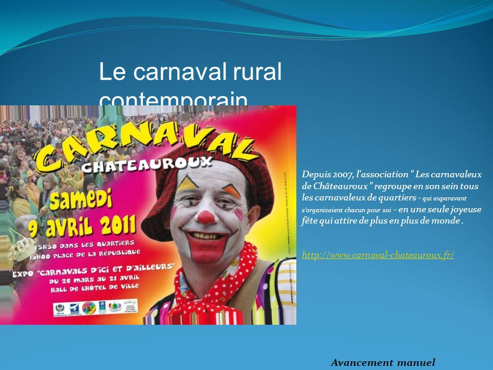 Le carnaval rural contemporain