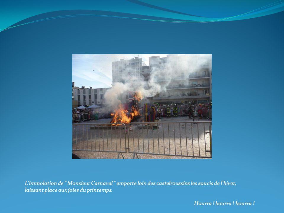 L immolation de Monsieur Carnaval emporte loin des castelroussins les soucis de l hiver, laissant place aux joies du printemps.