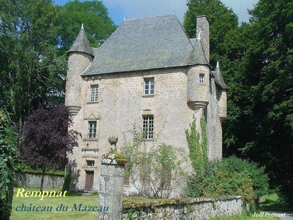 Rempnat château du Mazeau