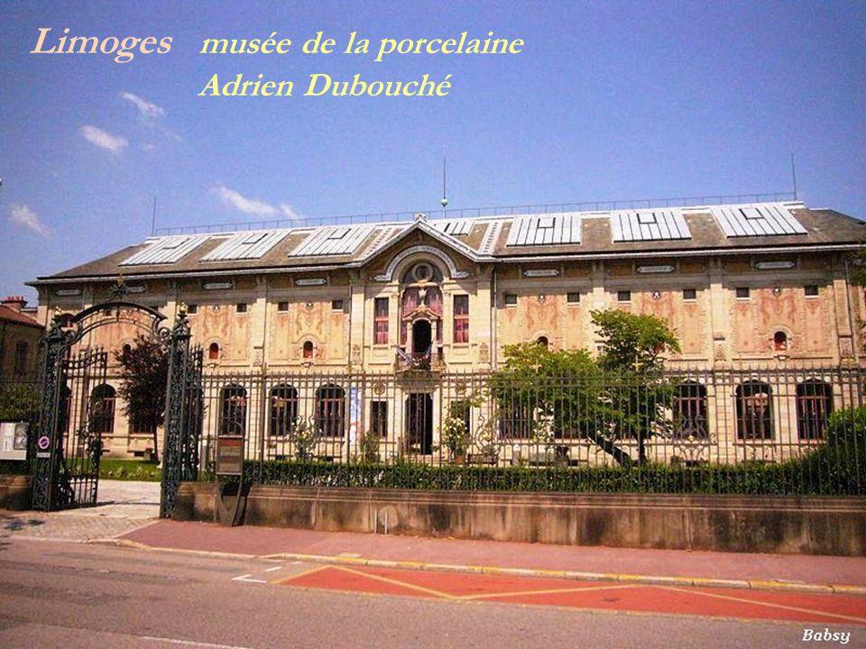 Limoges musée de la porcelaine . Adrien Dubouché