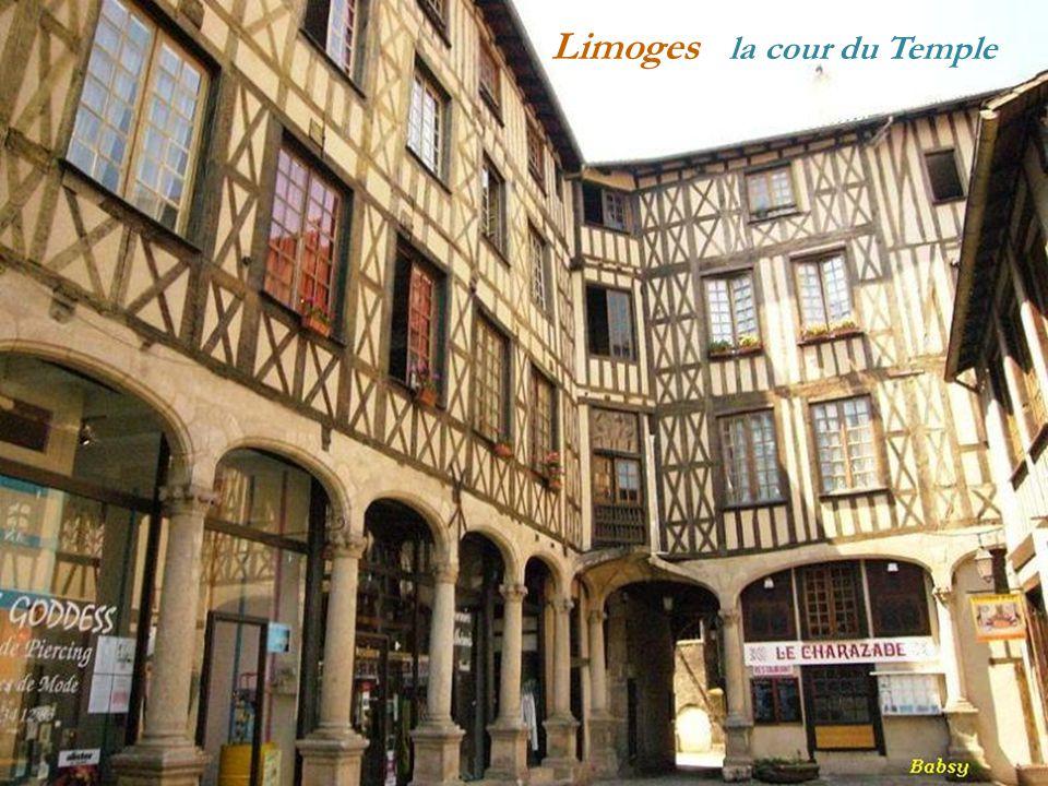 Limoges la cour du Temple