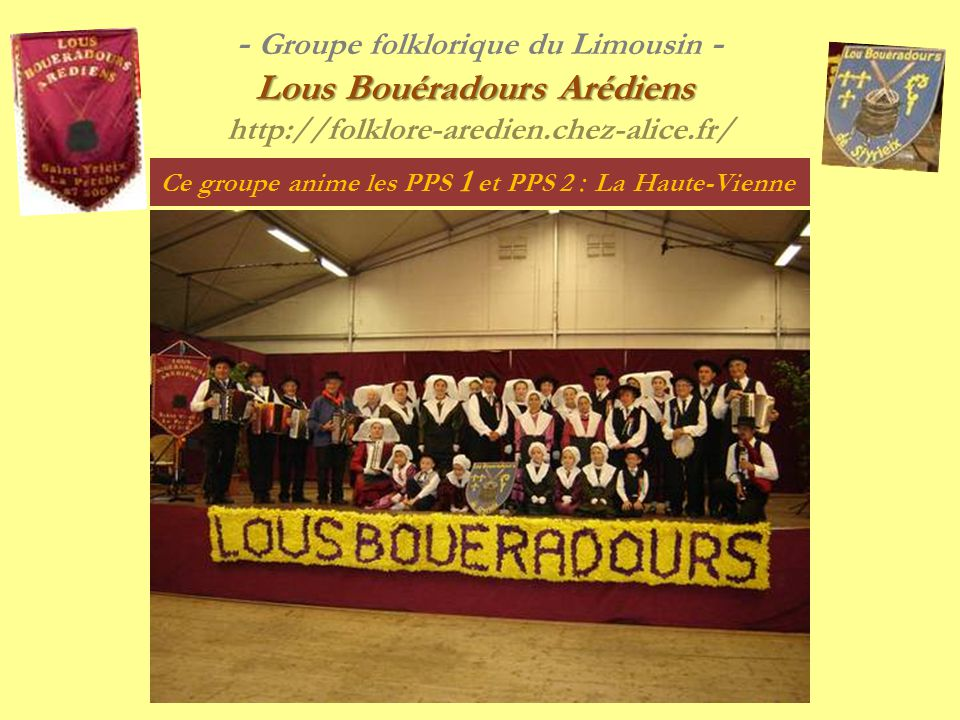 - Groupe folklorique du Limousin -