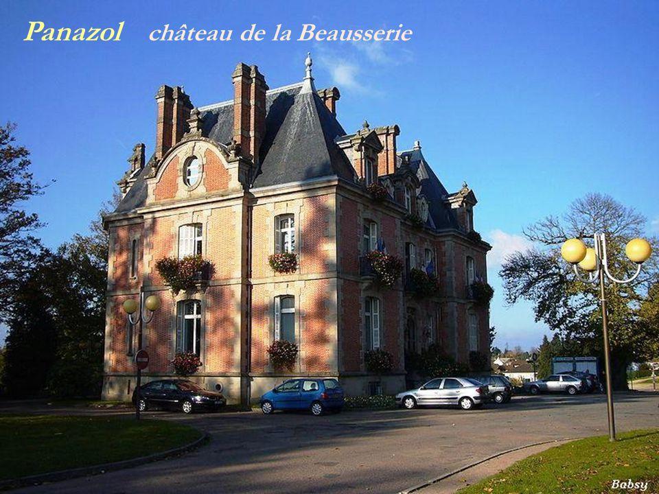 Panazol château de la Beausserie