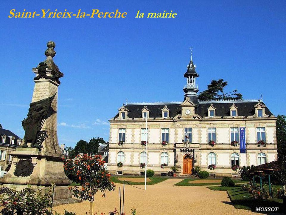 Saint-Yrieix-la-Perche la mairie