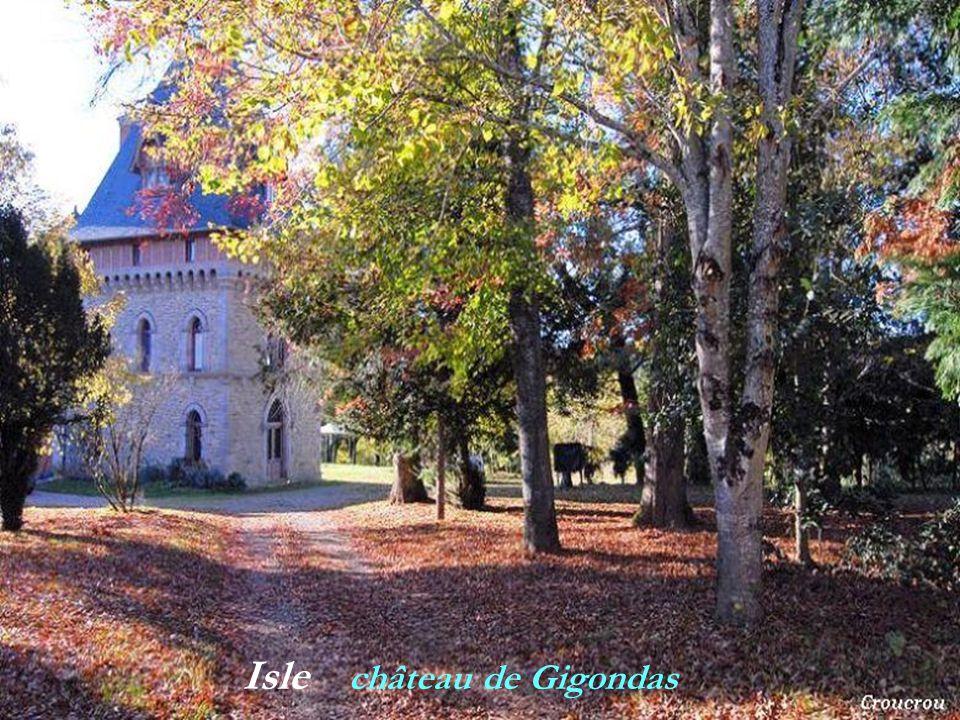 Isle château de Gigondas