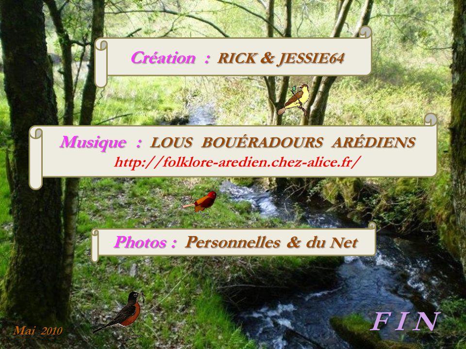 Création : RICK & JESSIE64 Photos : Personnelles & du Net