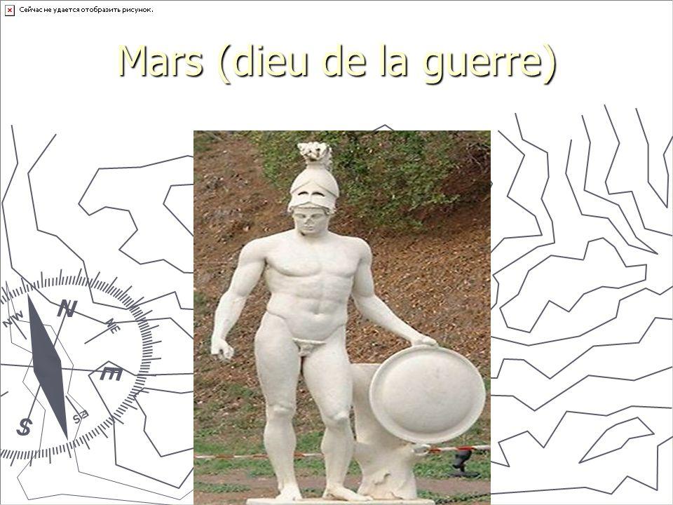Mars (dieu de la guerre)