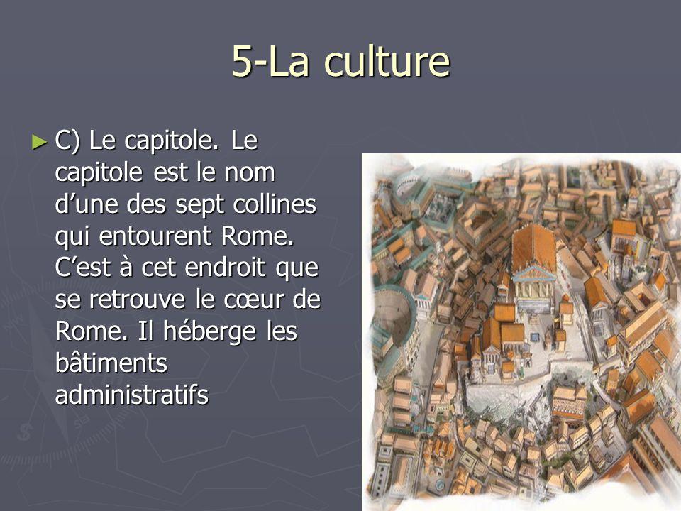 5-La culture