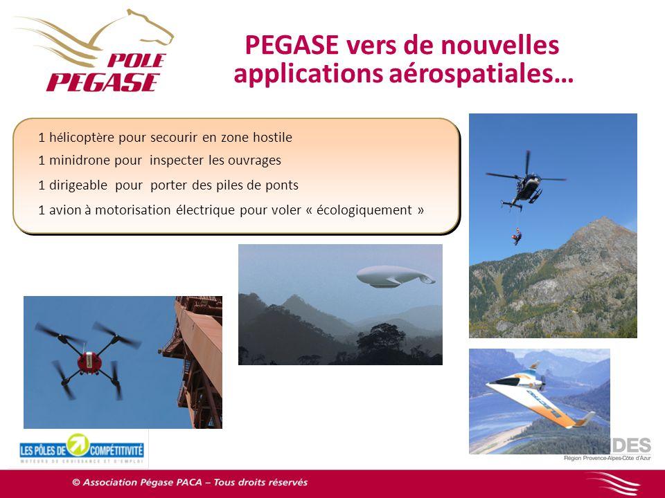 PEGASE vers de nouvelles applications aérospatiales…