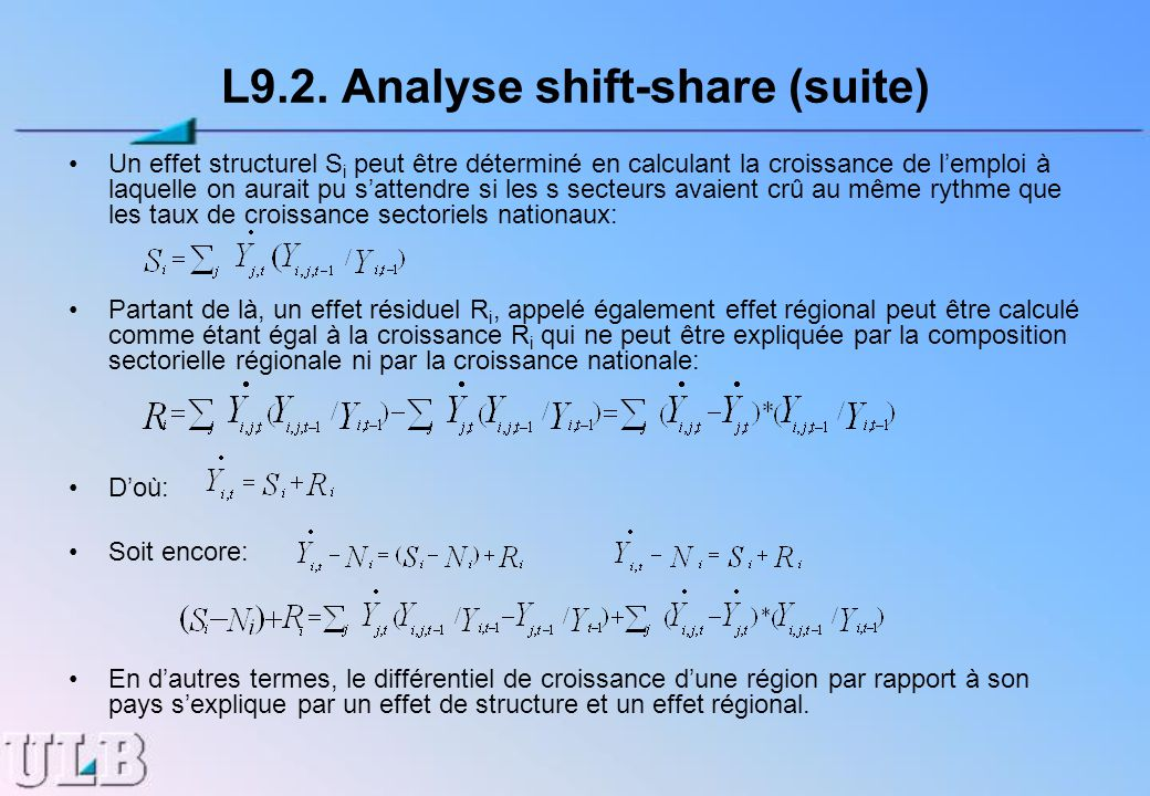 L9.2. Analyse shift-share (suite)
