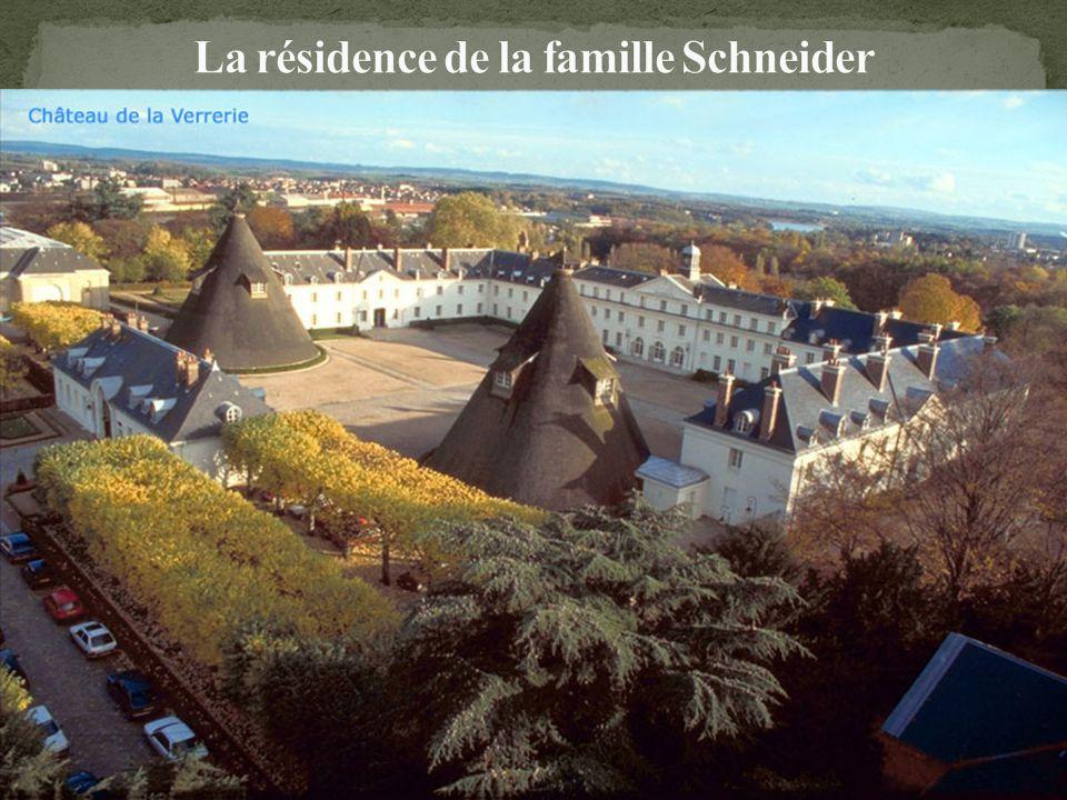 La résidence de la famille Schneider