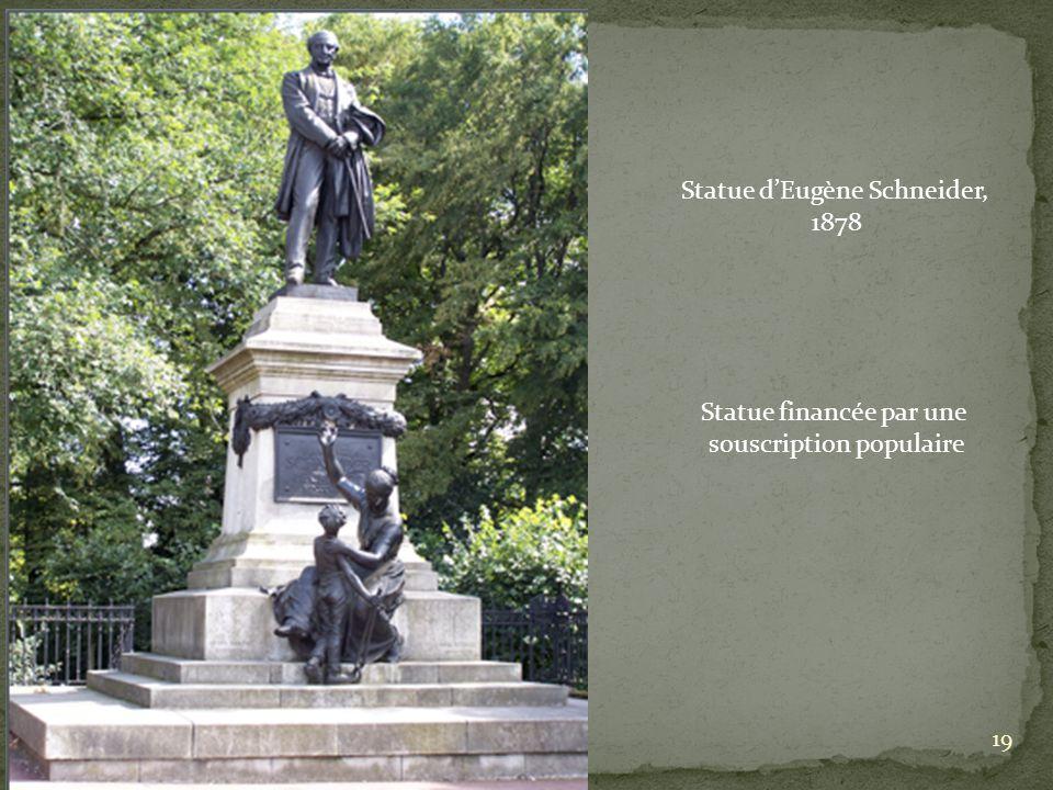 Statue d'Eugène Schneider, 1878