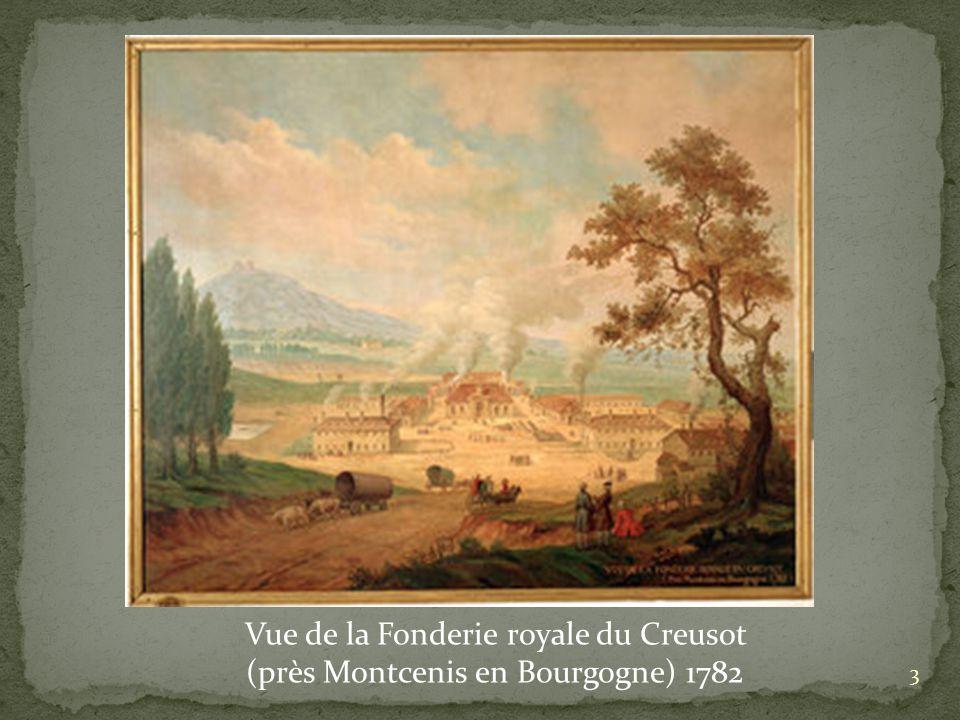 Vue de la Fonderie royale du Creusot
