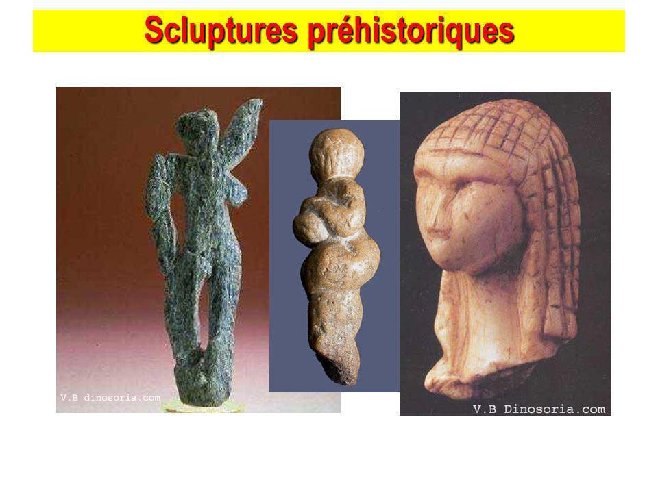 Scluptures préhistoriques