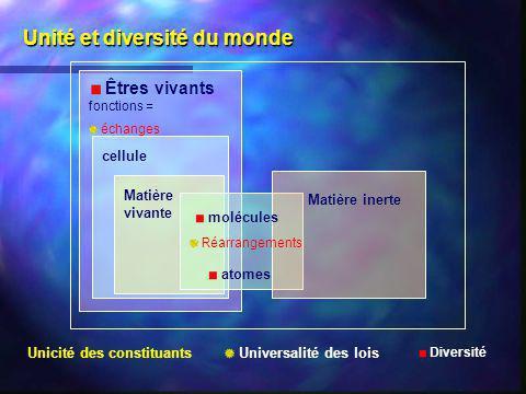 Unité et diversité du monde