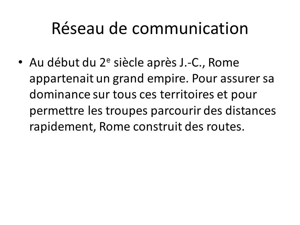 Réseau de communication