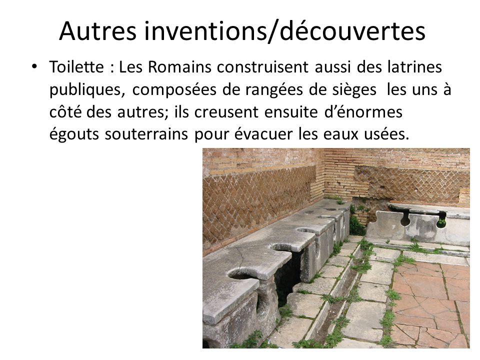 Autres inventions/découvertes