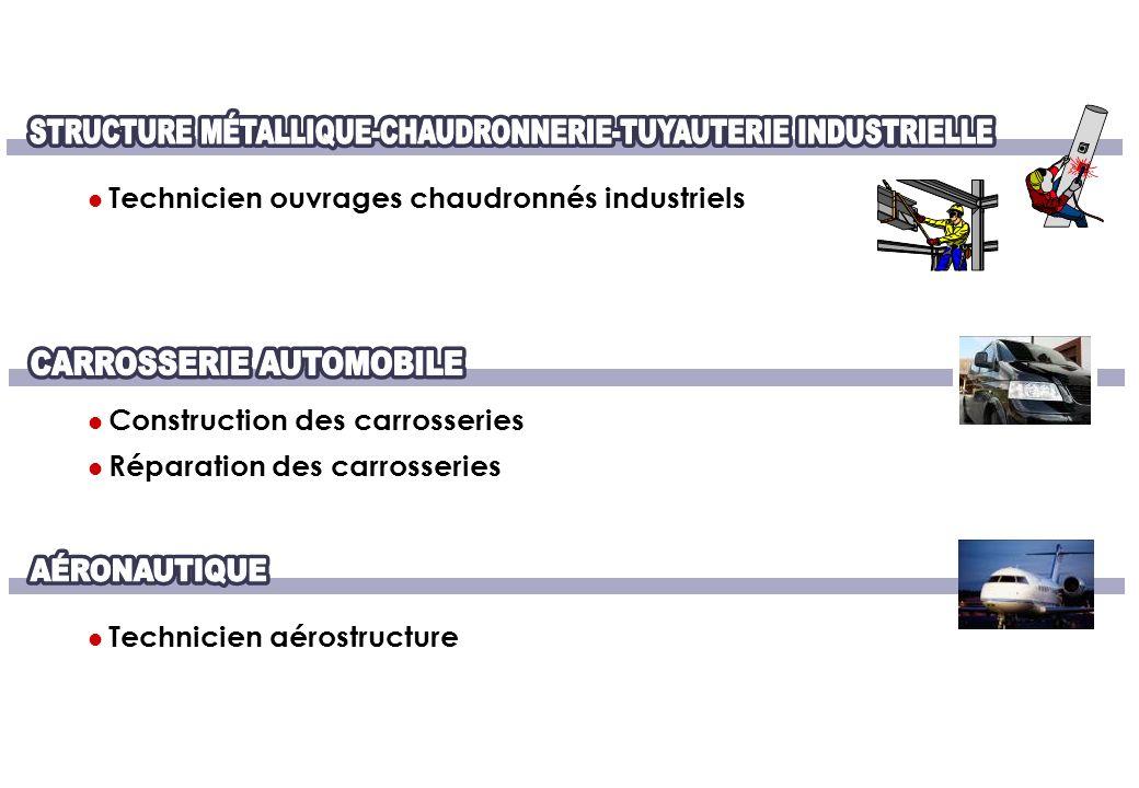 STRUCTURE MÉTALLIQUE-CHAUDRONNERIE-TUYAUTERIE INDUSTRIELLE