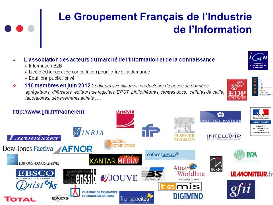 Le Groupement Français de l'Industrie de l'Information