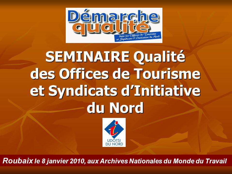 des Offices de Tourisme et Syndicats d'Initiative du Nord