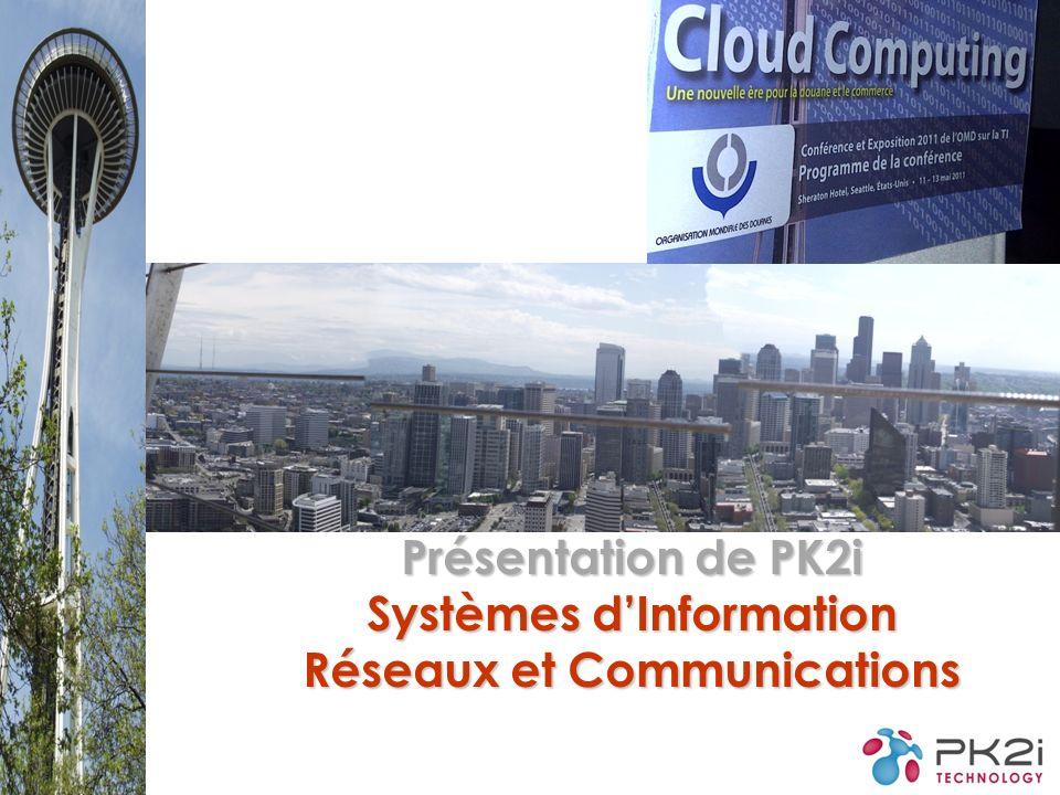 Présentation de PK2i Systèmes d'Information Réseaux et Communications