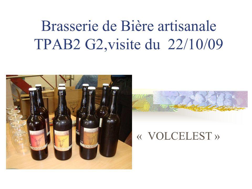 Brasserie de Bière artisanale TPAB2 G2,visite du 22/10/09